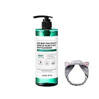 Sữa Tắm Giảm Mụn Lưng Some By Mi AHA-BHA-PHA 30 Days Miracle Ance Clear Body Cleanser 400g +Tặng Kèm Băng Đô Tai Mèo Xinh Xắn (Màu Ngẫu Nhiên)