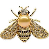 Cài áo hình chú ong vàng rực rỡ (Tặng mặt nạ thiên nhiên Dermal)