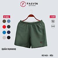 Quần đùi running nam Fasvin R21451.HN vải gió chun co giãn dùng khi thể thao hay mặc nhà