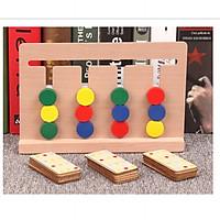 Đồ Chơi Rèn Luyện Trí Tuệ Phát Triển Tư Duy Logic Four color game