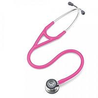 Ống nghe y tế 3M Littmann Cardiology IV, mặt nghe có lớp phủ tiêu chuẩn, dây nghe màu hồng đậm, 27 inch, 6161 (OUS)