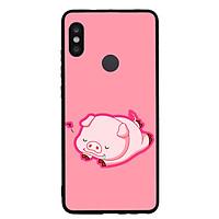 Ốp Lưng Viền TPU cho điện thoại Xiaomi Redmi Note 5 Pro - Pig 2019 Mẫu 3