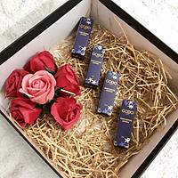 Quà tặng bạn gái - Set 4 màu Son GOBO thời thượng – Son thiên nhiên không chì, tặng bạn sắc đẹp và sức khỏe từ COCAYHOALA (Có hộp quà)