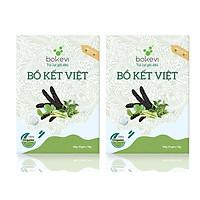 2 Hộp Túi Lọc Gội Đầu Bồ Kết Việt ( dòng Cao Cấp )