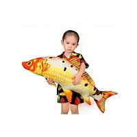 Cá chép 3D cao cấp nhồi bông size 90cm