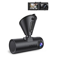 Camera Hành Trình VAVA Dual Dash Cam 2K Kèm Thẻ Nhớ U3 64Gb | Hàng Chính Hãng