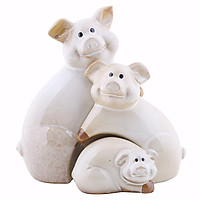 Bộ Quà Tặng Gốm Sứ Bát Tràng A302 - Lợn