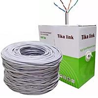 Dây mạng cat 5 Tika-link 305m lõi nhôm tặng kèm túi hạt mạng 100 hạt - Hàng chính hãng