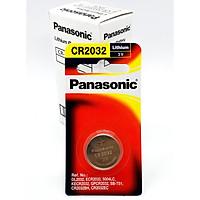 Pin Panasonic CR2032 ( CR-2032/1PT x 1 Vỉ  1 Viên ) Lithium 3V  - Hàng Chính Hãng