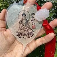 Lá Bồ đề hình Phật, tua rua hoa sen hoặc đồng tâm