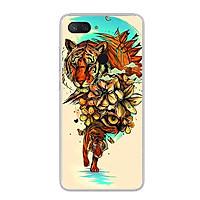Ốp lưng cho điện thoại Xiaomi Mi 8 Lite - Silicon dẻo - 0479 TIGER05 - Hàng Chính Hãng