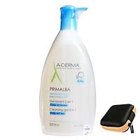 A-derma Primalba Cleansing Gel 2in1: Sữa Tắm Gội cho Em Bé (500ml)