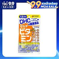 Viên uống vitamin tổng hợp DHC Multil Vitamins - Bổ sung tới 12 loại vitamin thiết yếu cho bạn vẻ đẹp rạng rỡ và sức khỏe dẻo dai