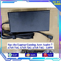 Sạc cho Laptop Gaming Acer Aspire 7 A715-71G A715-72G A715-74G - 135W - Hàng Nhập khẩu