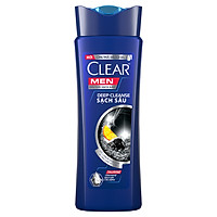 Dầu Gội Sạch Gàu Clear Men Deep Cleanse Sạch Sâu (180g)