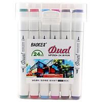Bút màu Marker MP2924 - 24 màu