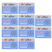 Bộ  10 Kẹp giấy Flexoffice FO-PAC02