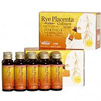 Nước uống Collagen làm đẹp da, xóa nhăn, chống lão hóa- Rye placenta with Collagen drink 30,000mg