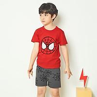 Bộ đồ ngắn tay mặc nhà cotton mịn cho bé trai U3022 - Unifriend Hàn Quốc, Cotton Organic