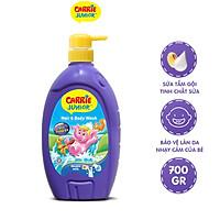 Sữa Tắm Gội cho bé Carrie Junior Tinh chất Sữa 700g