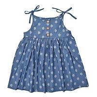 Váy Jean Bé Gái Hai Dây Ardilla 11GS18 - Xanh