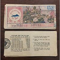 Vé số kiến thiết bao cấp tỉnh Tây Ninh 198x, phong thủy sưu tầm
