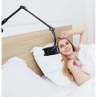 Giá đỡ kẹp cạnh bàn, cạnh giường gắn điện thoại, ipad Selfiecom I10 - Hàng chính hãng