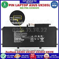 Pin Laptop ASUS UX305L (C31N1411)  - 6 CELL - Asus ZenBook UX305 U305LA UX305CA UX305UA UX305FA