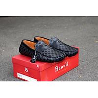 Giày lười, phong cách giày mọi, giày nam C7ML1T0 da bò Banglades, chính hãng Banuli