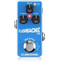 TC ELECTRONIC FLASHBACK 2 MINI DELAY Guitar Effects Pedal_Hàng Chính Hãng