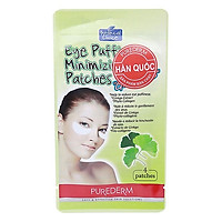 "Mặt nạ giảm bọng mắt PUREDERM EYE PUFFINESS MINIMIZING PATCHES ""GINKGO"""