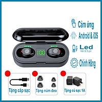 Tai Nghe Bluetooth Amoi F9 kèm Củ Sạc 1A và Cáp Sạc cho Dock Sạc 3500mAh- Hàng Chính Hãng