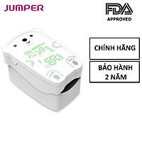 Máy đo nồng độ oxy trong máu Jumper JPD-500H | Dùng Cho Người Lớn Và Trẻ Em - Bảo Hành 24 Tháng [FDA Hoa Kỳ + xuất USA]