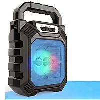 Loa Bluetooth xách tay di động D668 - Đèn LED (giao màu ngẫu nhiên)