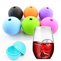 Whiskey Ice Cube Ball Maker Mold Sphere Mould Party Tray Bar Supply Random Color