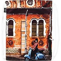 Túi Dây Rút XOX Backpack Áo Dài Góc Nhà Thờ Đức Bà