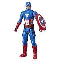 Đồ chơi AVENGERS Mô hình siêu anh hùng Captain America 30cm oai hùng E7877