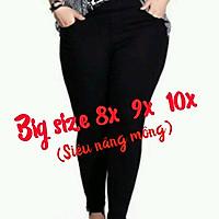 Quần legging nữ nâng mông big size (trên 80kg)