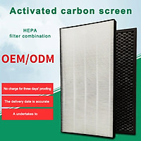 True HEPA Replacement Filter Pre-Carbon Filters Parts for Sharp Air Purifier, Anti-static