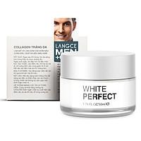 COLLAGEN WHITE PERFECT TRẮNG DA GIỮ ẨM CHỐNG NẮNG SPF19 50ml - KEM NGÀY LANGCE dành cho Nam
