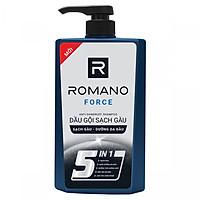 Dầu gội cao cấp Romano Force Antidandruff mạnh mẽ tự tin loại bỏ & ngăn gàu trở lại 650gr