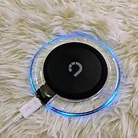 Đế sạc tròn không dây BEZALEL - hỗ trợ sạc nhanh 10W (Đèn LED) - Hàng chính hãng