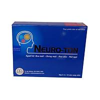 01 Hộp dưỡng Não NEUROTON, giúp hoạt huyết dưỡng não, hỗ trợ phòng chống giảm Trí nhớ, Tai biến đột quỵ, người hay Đau đầu,Hoa mắt, Chóng mặt, Ù tai, Thiếu máu lên não, phòng ngừa giảm nguy cơ huyết khối (Hộp 60 viên nang mềm)