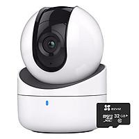 Combo Camera Robot HDPARAGON HDS-PT2001IRPW (1MP) + Thẻ Nhớ Chuyên Dụng 32GB - Hàng Nhập Khẩu
