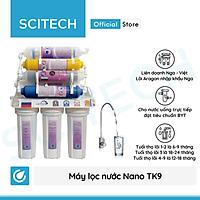 Máy lọc nước Nano TK9 FIR Oxygen by Scitech (Không dùng điện, không nước thải) - Hàng chính hãng