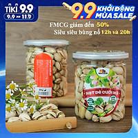 Hạt Dẻ Cười Mỹ Smile Nuts (215g - 500g) | 100% Nhập khẩu từ Mỹ, không tẩy trắng - Dẻ cười rang muối vừa ăn, thơm ngon, giòn rụm