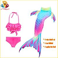E141 Đồ bơi nàng tiên cá cho bé gái đi biển siêu xinh