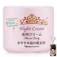Kem đêm Naris Floral Lady Night Cream Nhật bản 49g + Móc khóa
