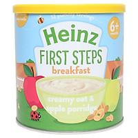 Bột Ăn Dặm Yến Mạch Táo kem 6m Heinz (240g)