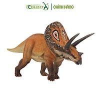 Mô hình thu nhỏ: Khủng Long Torosaurus  - Torosaurus, hiệu: CollectA, mã HS 9654140[88512] -  Chất liệu an toàn cho trẻ - Hàng chính hãng